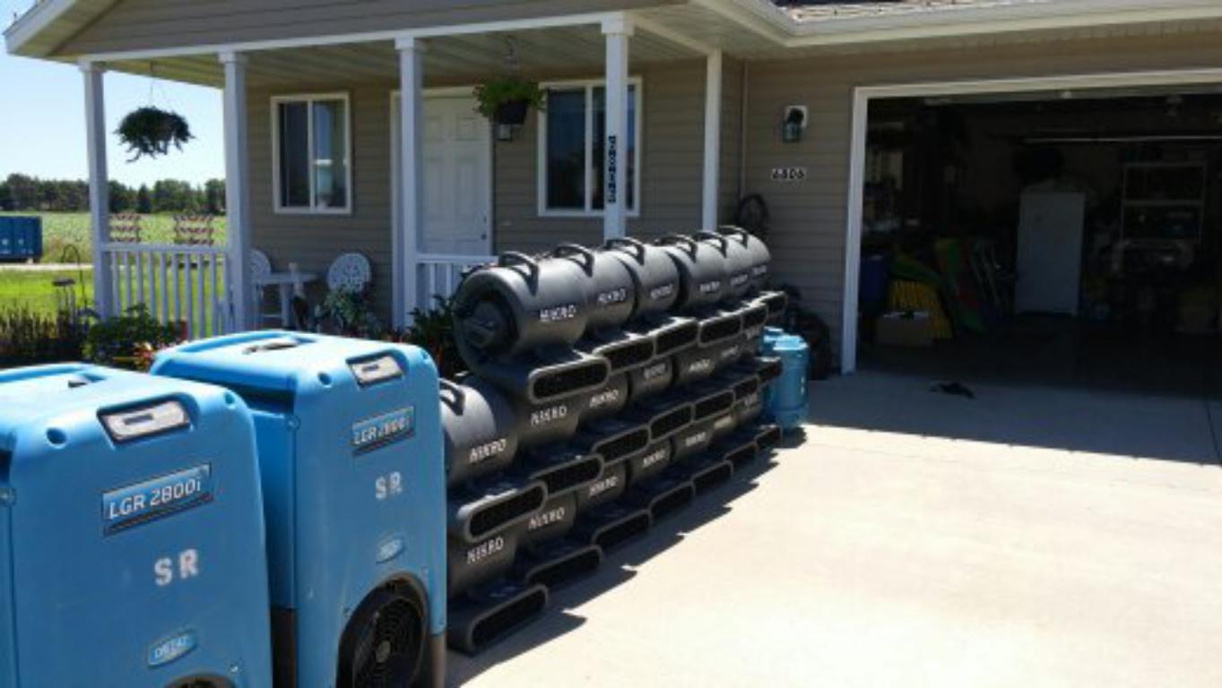 Greensboro  North Carolina water restoration